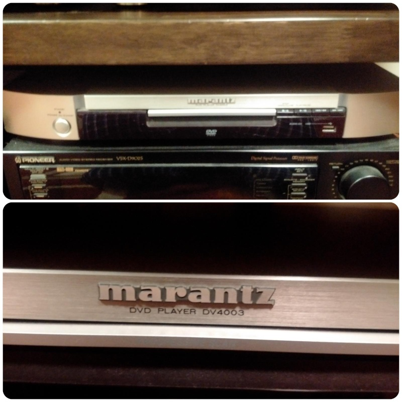 Used Zl1 Supercharger For Sale: Marantz DV4003 DVD/CD/MP3 Player (sold
