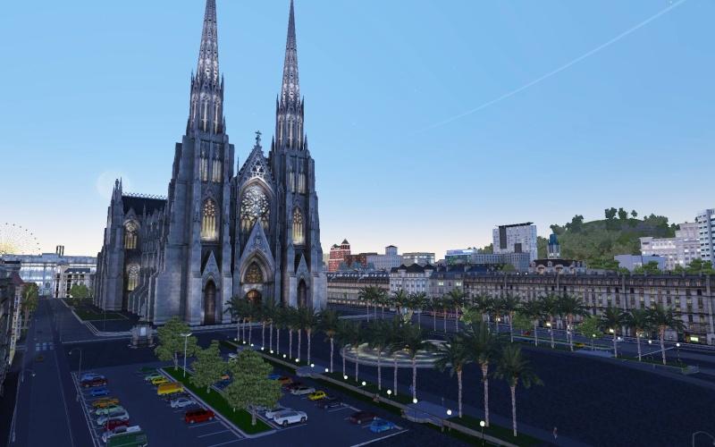 image Basilique et place Saint-Géry