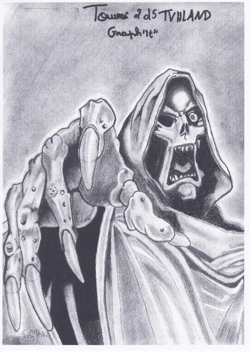 dessin squelette