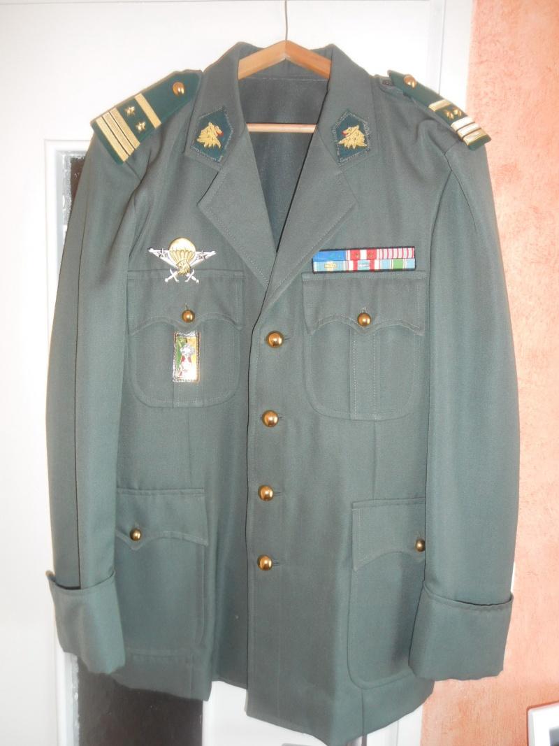 De l 39 algerie au liban un parcours bien rempli et quelques - Port de la tenue militaire en retraite ...