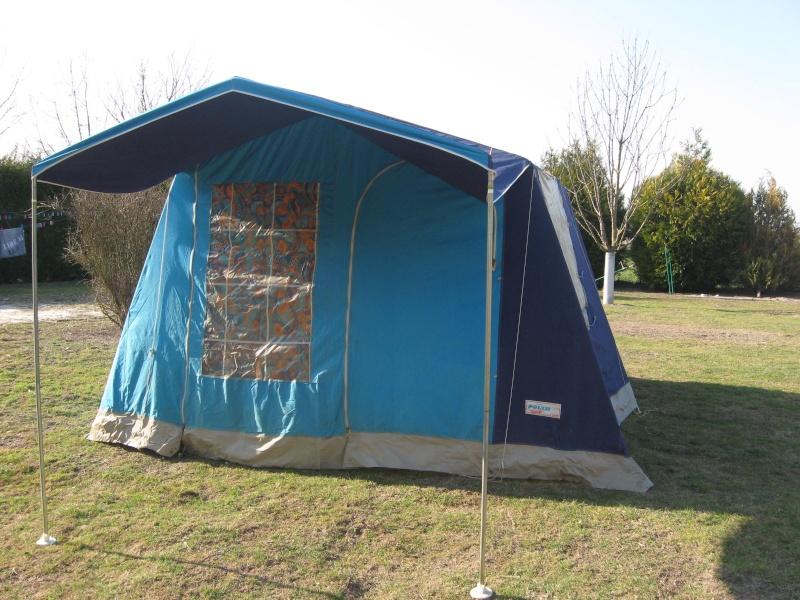 Tente familliale pour 1er vacance en famille for Toile de tente 4 chambres