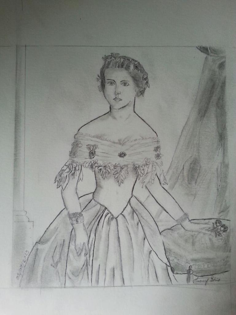 dessin femme face