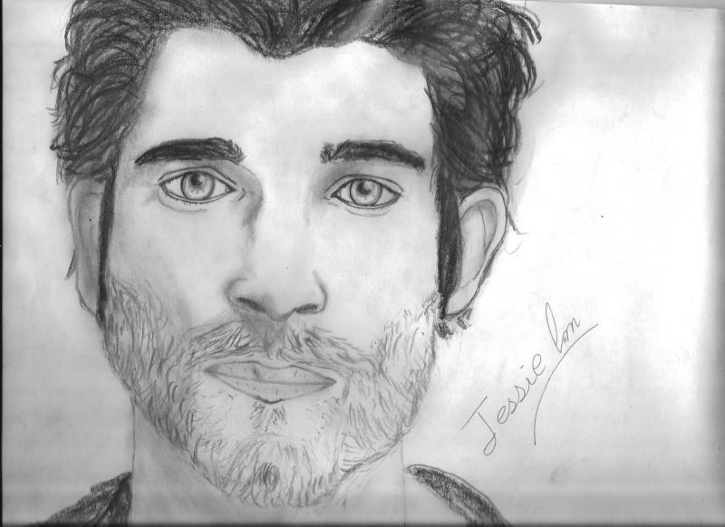 dessin portrait homme