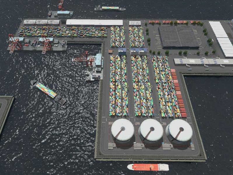 image Port industriel