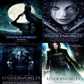 سلسلة أفلام Underworld Movies Pack بجودة 576p BluRay