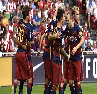 هدف مباراة أتلتيك بيلباو 0 x برشلونة 1