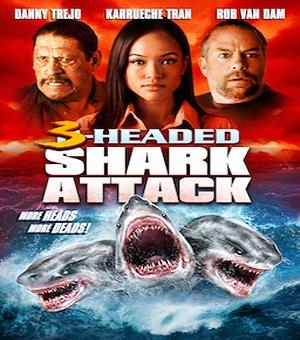 فيلم 3Headed Shark Attack 2015 مترجم HDTV 576p