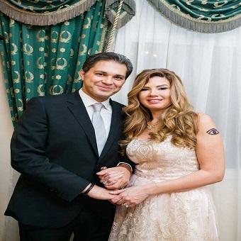 صور حفل زفاف الفنانة رانيا فريد شوقي