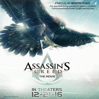 البوستر الاول لفيلم Assassins Creed The Movie