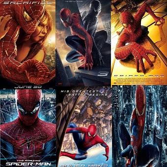 سلسلة أفلام Spider-Man Movies Pack بجودة 576p BluRay