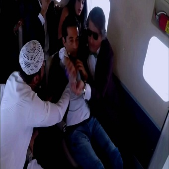 حلقة عمرو سعد - برنامج رامز واكل الجو - 19
