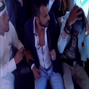 حلقة إبراهيم سعيد - برنامج رامز واكل الجو - الحلقة 5