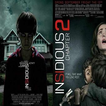 سلسلة Insidious Movies Pack مترجم 576p BluRay