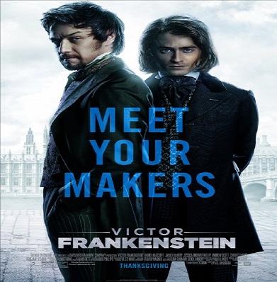 العرض الدعائى الاول لفيلم 2015 Victor Frankenstein
