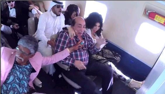 حلقة عبد الله مشرف و غادة إبراهيم - برنامج رامز واكل الجو 6