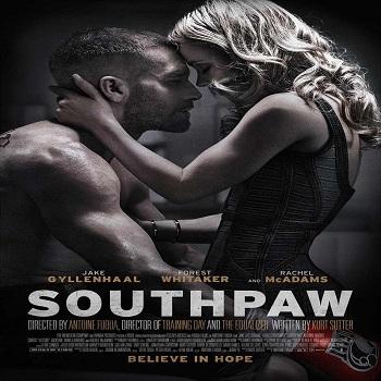لعرض الدعائى الثانى والبوستر الرسمى لفيلم Southpaw 2015