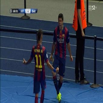 أهداف مباراة برشلونة 3 x يوفنتوس 1