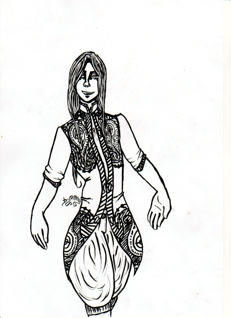 dessin personnage