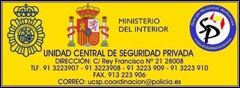 Sala de Coordinación de Seguridad Privada