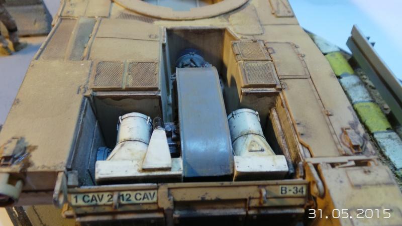 M1a1 abrams italeri n 6438 1 35 for L interieur du char de vimoutier