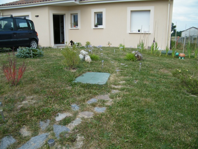 Mon jardin au commencement page 2 for Jardin 800m2