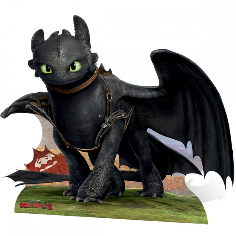 Fiche dragon toothless krokmou - Furie nocturne dessin ...