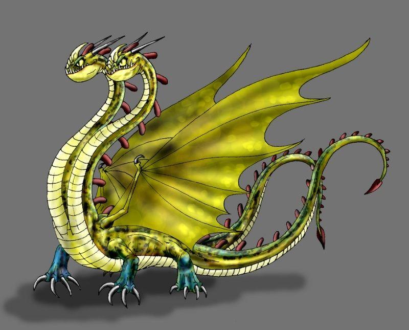 [Fiche Dragon] Hideous Zippleback (Hiddeux Braguettaure)