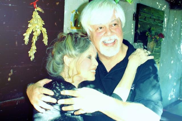 Paul Watson et Brigitte Bardot