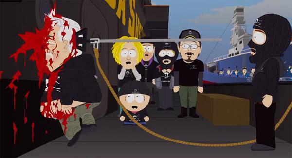 Paul Watson financé par un des créateurs des Simpson ... harponné dans South Park
