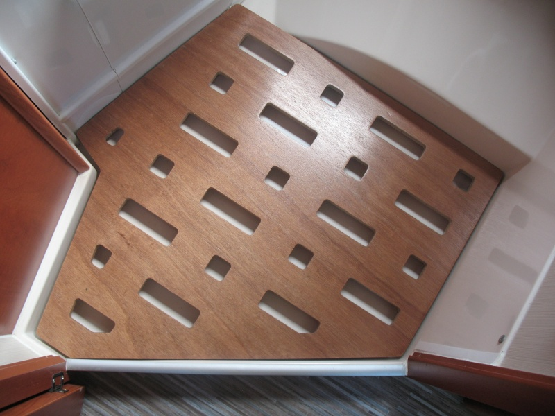 am lioration caillebotis bac douche. Black Bedroom Furniture Sets. Home Design Ideas