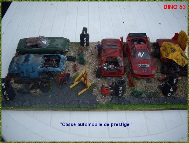 diorama casse automobile de prestige chelle 1 24 me page 3. Black Bedroom Furniture Sets. Home Design Ideas