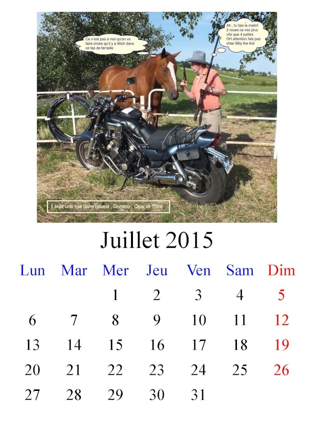 Domino, le cheval et la moto Acte 1
