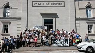 Manifestation Saint-Ylie Dimitri Fargette