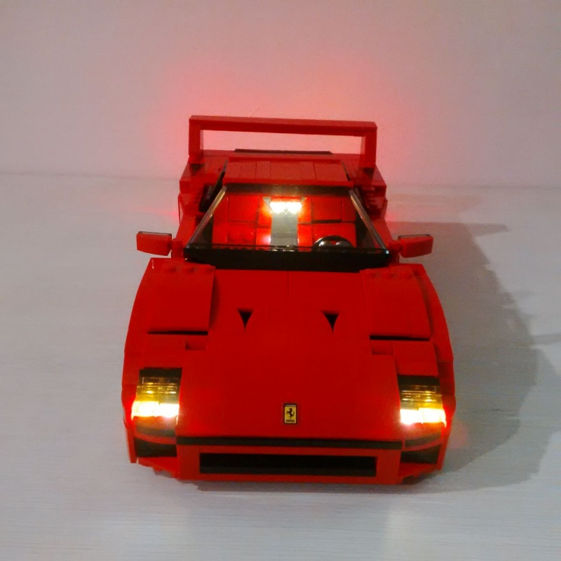 view topic lego ferrari f40 liteup by liteupblock. Black Bedroom Furniture Sets. Home Design Ideas