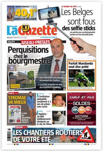 La nouvelle gazette du 01-07-2015 Belgique