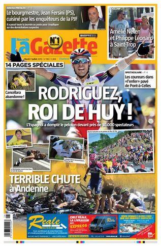 La nouvelle gazette du 07-07-2015 Belgique