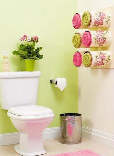 Porta toallas decorativo reciclado para el ba o for Todo decoracion hogar