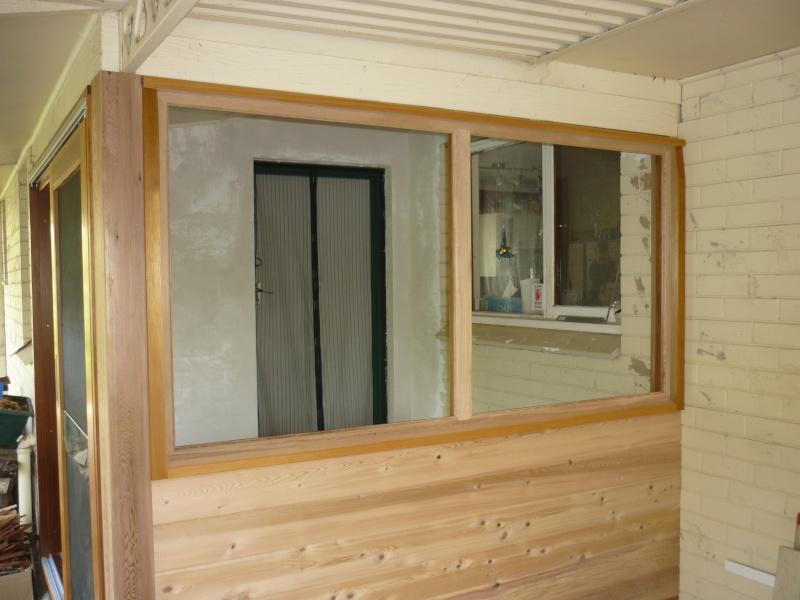 r alisation d une fen tre ch ssis fixe. Black Bedroom Furniture Sets. Home Design Ideas