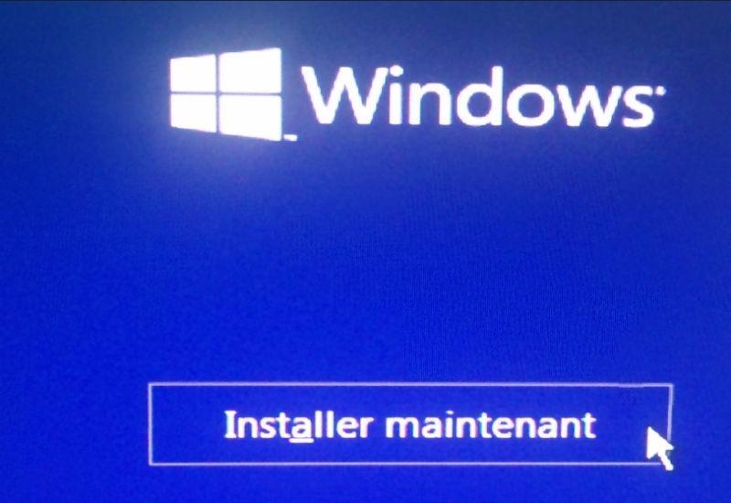 Installer Windows 10 Gratuit Maintenant