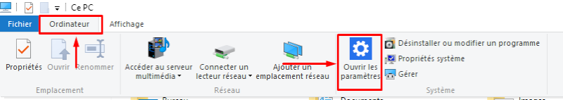 impossible faire sauvegarde windows 10
