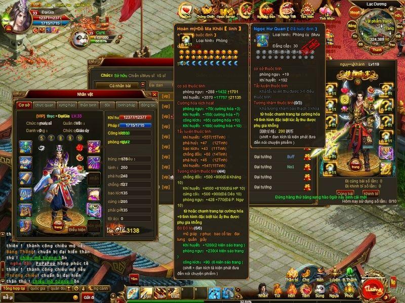 19h00 08/06 - open Tam Quốc Vĩnh Cửu - WEBGAME duy nhất VN có tỷ lệ nạp thẻ cực cao.