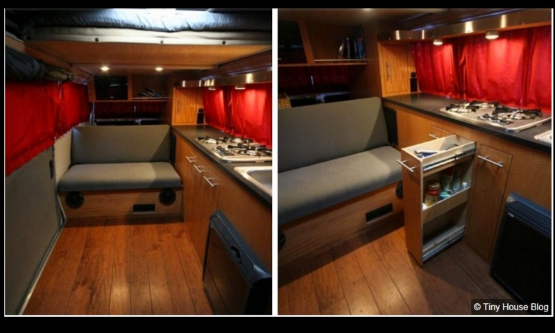 10 fa ons cool d am nager un combi vw for Interieur westfalia t3