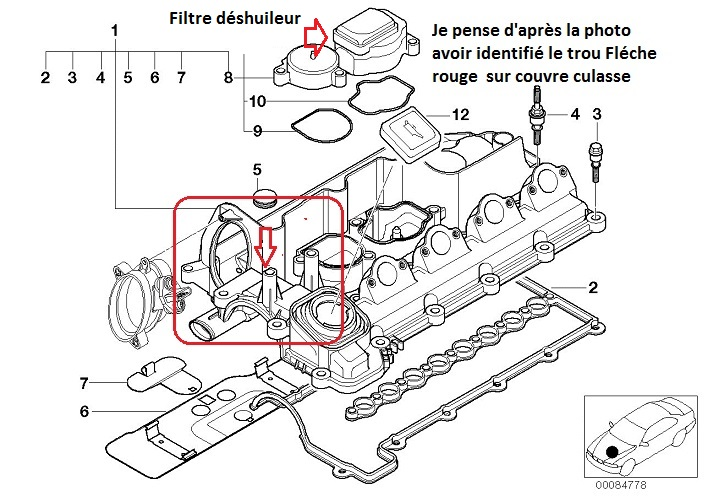 T36558p25 Bmw E46 320d M47 An 1999 Pression Bloc Moteur on diagram of 2006 bmw 525i cooling system