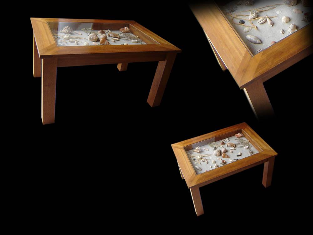 Table basse avec inclusion d 39 un plateau de backgammon - Cette de table ...