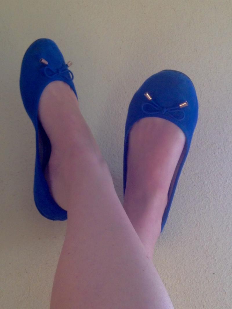 Fétiche des pieds bleu vanessa