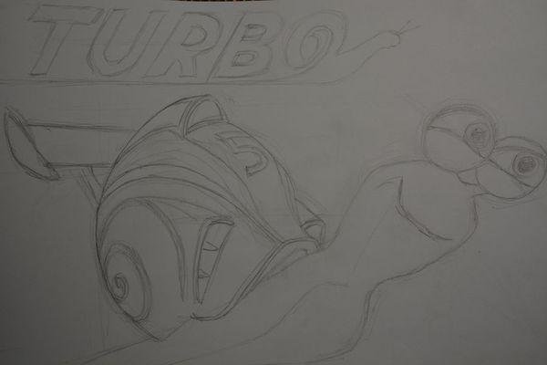 dessin turbo crayon