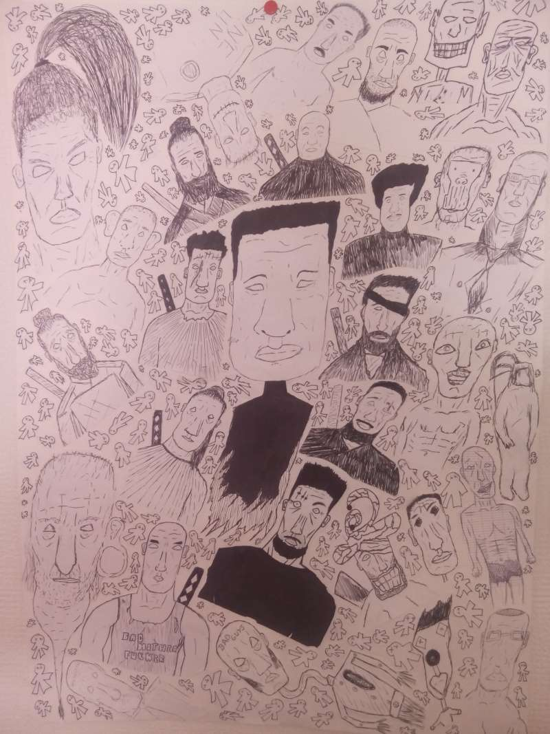 dessin personnages