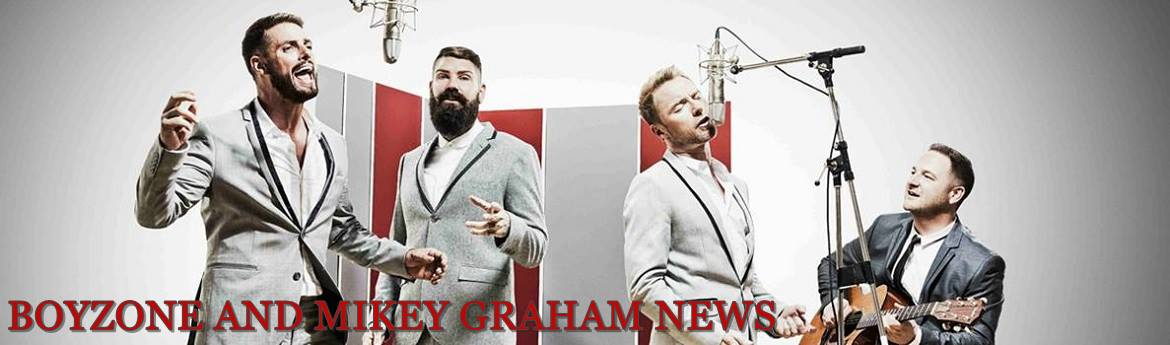 Boyzone and Mikey Graham News
