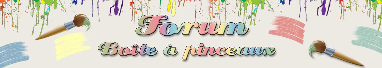 Forum Boîte à pinceaux
