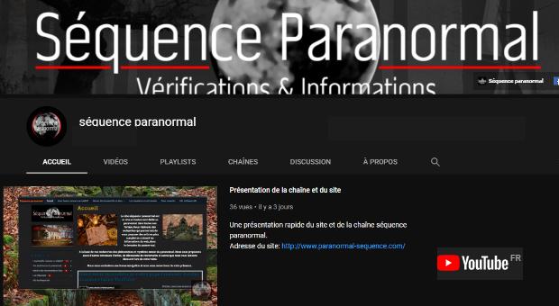 Chaîne Youtube du site
